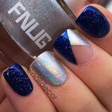 top 25 best blue and silver nails ideas on pinterest winter