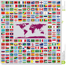 Country Flags Of The World Official Country Flags Stock Vector Illustration Of Europe 34403649