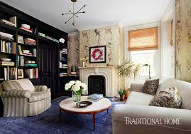Living Room Brooklyn Stylish Brooklyn Brownstone Traditional Home