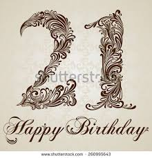 21st birthday stock images royalty free images u0026 vectors