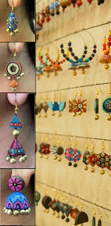 handcrafted terracotta jewellery by indian terracotta artisans