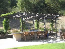 Pergola Outdoor Kitchen Outdoor Kitchen Gallery Outdoor Kitchens In Sonoma County