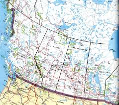 Map Of West Coast Map Of Western Canada