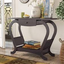 house of hton console table narrow hallway console table wayfair