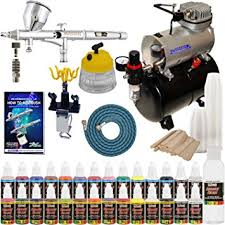 amazon paint by numbers black friday amazon com complete professional airbrush system kit with g44