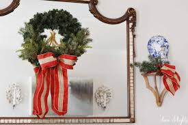 daily delight how to spruce up a basic christmas wreath u2013 dixie