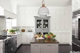 white kitchen cabinets grey island 20 gorgeous gray and white kitchens maison de pax