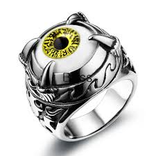 cool mens rings personality vintage mens jewelry stainless steel cool mens