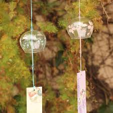 aliexpress com buy japanese style wind chime cherry glass