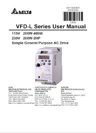delta electronics network card vfd l series pdf user u0027s manual free