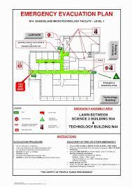 fire evacuation floor plan map blank template exle emergency evac floor plan home lovely