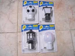 wall plug night light new manual led night light includes bulb on off switch wall plug