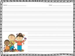 Thanksgiving Writing Pages Themed Writing Paper For Kindergarten When Should You Write Your