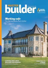 master builder magazine october november 2016 by master builders