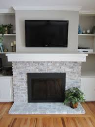 Fireplace Cover Up Best 25 Brick Fireplace Makeover Ideas On Pinterest Painting