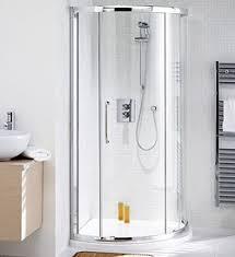 Lakes Shower Door 910mm Corner Shower Enclosure Slider Door Tray Silver Lakes