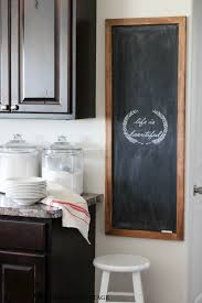 Chalkboard Home Decor by Huge Diy Chalkboard The Wood Grain Cottage