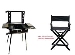 makeup station with lights professional makeup station professional rolling studio makeup
