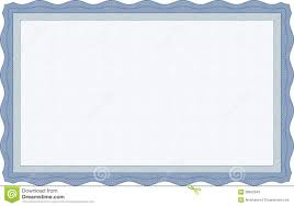 blue certificate template stock photos image 28552543
