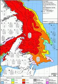 Newfoundland Map The Bruce Mactavish Newfoundland Birding Blog The Ice Is Coming