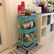 ikea raskog trolley ikea raskog turquoise trolley kitchen appliances on carousell