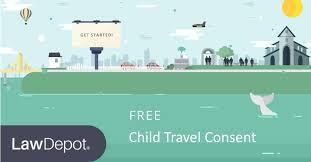 sample permission letter for traveling child sample of letter of