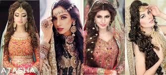 hair styles pakistan latest pakistani bridal wedding hairstyles archives stylesgap com