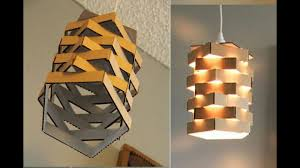 diy paper lamp lantern how to make a night lamp home and room