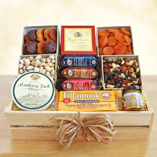 cheese baskets meat cheese wooden gift crate hayneedle