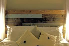 reclaimed wood headboard diy reclaimed wood headboard with