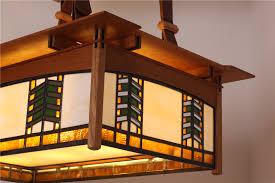 Frank Lloyd Wright Style Frank Lloyd Wright Ceiling Light Prairie Style Ceiling Light