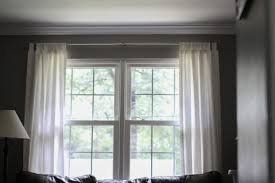 too high too low just right curtain rod height issues the
