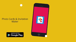 Online Invitation Card Maker Software How To Make Photo Cards U0026 Invitations From Android App Youtube