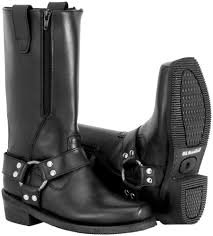 best women s motorcycle riding boots 179 95 river road womens zipper harness leather boots 249751