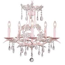 Pink Chandelier Light Chandeliers The Painted Cottage Vintage Painted Furniture