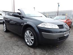 renault megane 2007 used renault megane convertible for sale motors co uk