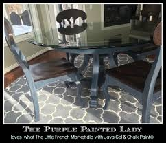 paris purple painted