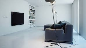 superminimalist com designs by style open white wall shelves super minimalist