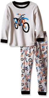 infant motocross gear amazon com elowel boys u0027 kid u0027s motorcycle pajama set clothing