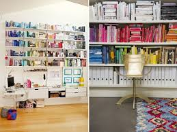 how to colour block your bookshelves a pair u0026 a spare