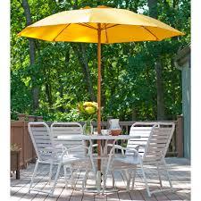 7 5 ft frankford acrylic fiberglass vented patio umbrella no