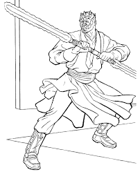 lightsaber coloring page darth vader with lightsaber coloring page