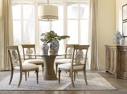 Dining Table Design With Round Glass Top 54 Inch Round Dining Table With Glass Top And Pedestal Base By