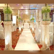wedding centerpieces vases 10pcs 140cm quality wedding column for wedding