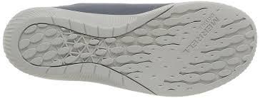 merrell roust frenzy men u0027s lace up trainer shoes grey castle rock