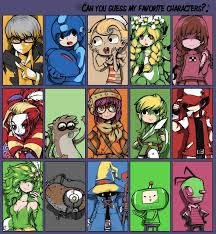 Memes Characters - favorite characters meme by parororo on deviantart