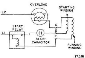 single phase compressor wiring diagram gooddy org