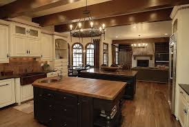 Kitchen Sink Spanish - eclectic kitchen with stone tile u0026 french doors in denver co