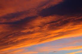 Sunset Orange by Orange And Blue Sunset Picture Free Photograph Photos Public