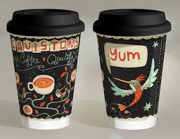 Coffee Cup Designs | 20 creative coffee cup designs you need to see hongkiat